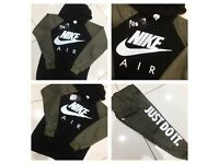 Brand New With Tags Ladies Nike Khaki/Black Tracksuit £30 Each