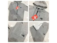 Brand New With Tags Mens North Face Grey Tracksuit XL £30