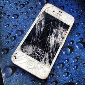 i phone 4 smashed screen