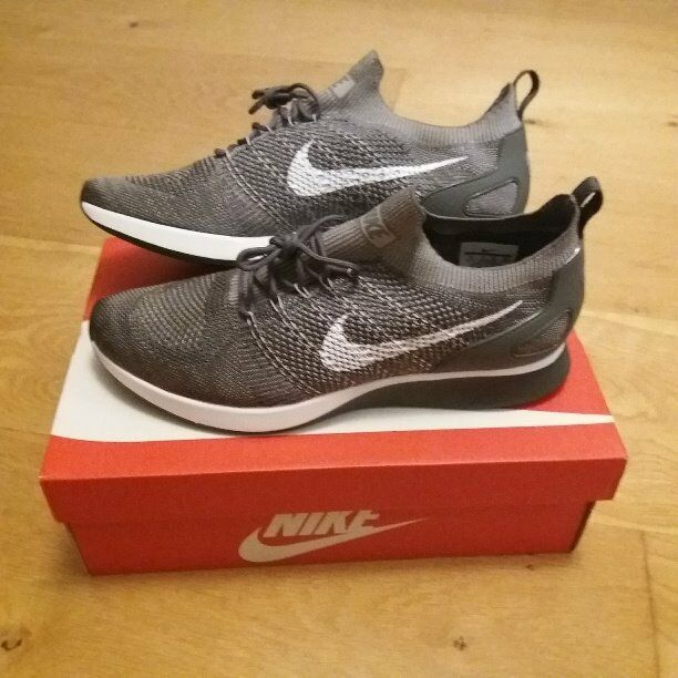 8c9fc4a60aa6 Nike Air Zoom Mariah Flyknit Racer trainers  Grey UK size 11. Model 918264  009 - BNIB