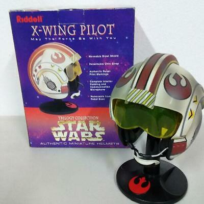 STARWARS Riddell X-WING PILOT Miniature Helmet Vintage Rare Very good condition for sale  Shipping to Canada