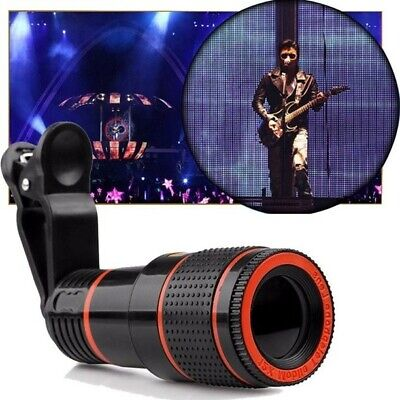 8X Zoom Telescope Lens Telephoto Mobile Phone Camera Len for iPhone Sumsung