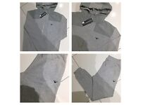 Brand New With Tags Men's Armani Grey Slim Fit Tracksuits £30