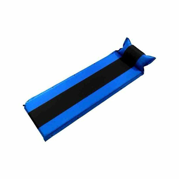 Air Mattress Sleeping Pad Self-Inflating Camping Mat with Pillow for Outdoor US