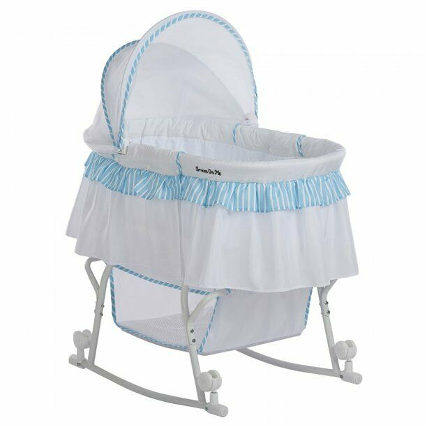 Baby Bassinet & Cradle Portable Infant Crib Bed Newborn Slee