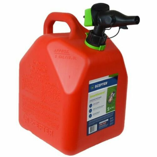 Scepter - 5 Gallon Smartcontrol Gas Can, FR1G501, Red