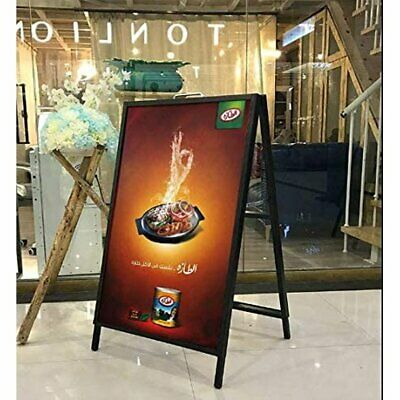 Heavy-duty Double-sided Metal A-frame Sidewalk Sign Holder Stand 23 X35