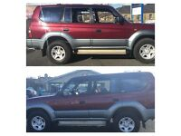 Toyota Landcruiser Colorado 8 seater rare 5 speed manual mint 4x4 low miles well maintained anytrial