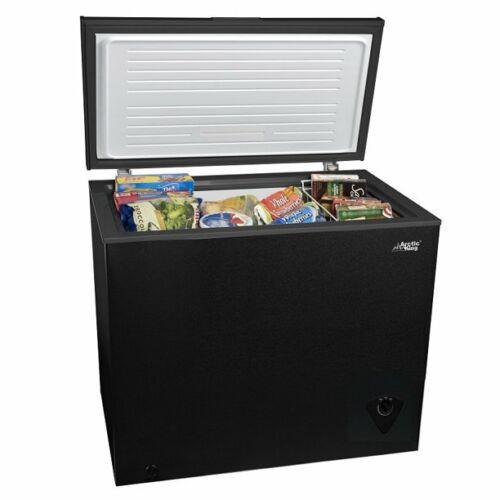 Chest Deep Freezer 7 Cu Ft Frozen Food Storage Ice Fridge With Basket, Black NEW