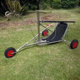 Landyacht Land Sailer stainless steel + RIG well made & portable