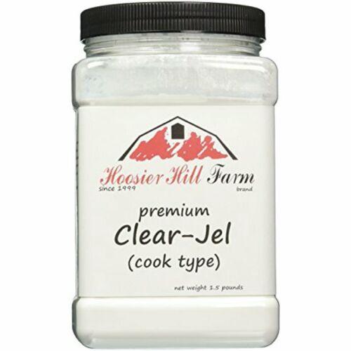 Hoosier Hill Farm Clear Jel (Cooktype), 1.5 lbs plastic jar