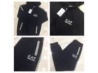 Brand New With Tags Men's EA7 Tracksuits 2 Colours £30 Each