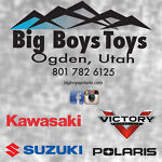 Big Boys ATVs Motorcycles and Sleds