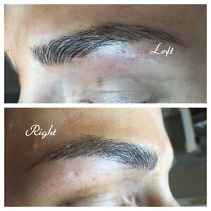 Certified Eyebrow Tattoo + FREE Lash or Nail Service Offer
