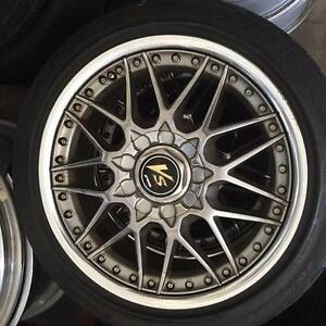 17inch works wheels Holland Park West Brisbane South West Preview