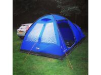 Vango Kirby 400 4-man tent with extras, including electric hookup unit