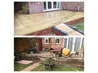 Slabbing, Block Paving, Fencing & landscaping