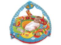 Baby tummy time play mat (still boxed) & inflatable play nest