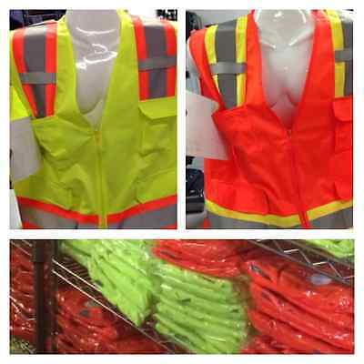 Wholesale Lot Of 13 Safety Vest From Medium To 4x