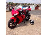 Honda Fireblade CBR1000 RR-8 2008 Red and Black