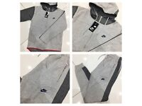 Brand New With Tags Men's Nike Grey Tech Tracksuits £30