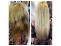 Hair extensions (100% human hair) OFFER £50 OFF full price!!!!