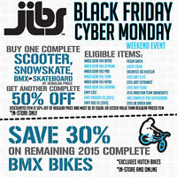 Black Friday Deals on BMX Bikes, Scooters, Skateboards & More!