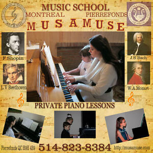 Classical piano lessons West Island Greater Montréal image 2