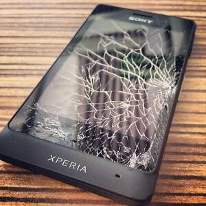 [ BEST PRICE ] SONY XPERIA Z5, Z4, Z3, Z3 COMPACT, Z2, Z1, Z, M4, ULTRA CRACKED SCREEN, LCD, BACKING REPAIR ON SPOT !