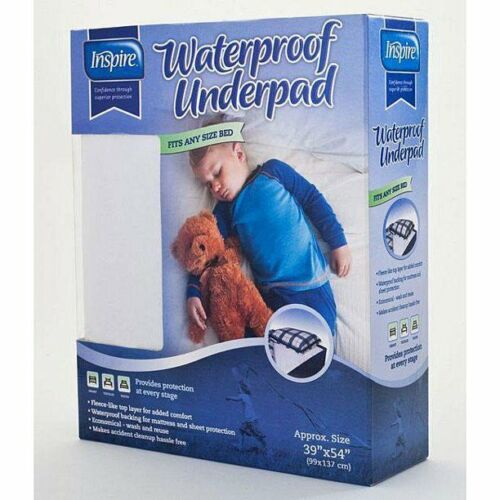 K2 Health Products BP3954RT Inspire Waterproof Underpads 39 x 54 in. New in Box!