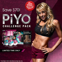 ON SALE PiYo and Shakeology Challenge Pack GET TONED LOSE WEIGH