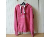 Womens Superdry hoodie - size Large (orange label)