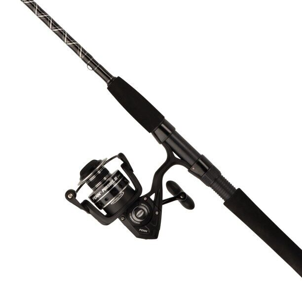 """PENN Pursuit III Combo Fishing 8'0"""" Fast Spinning Rod and 6000 Reel Combo New"""