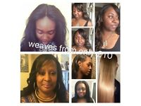 AFRO CARIBBEAN MOBILE HAIRDRESSER-WEAVES from only £10. BRAIDS from only £29!