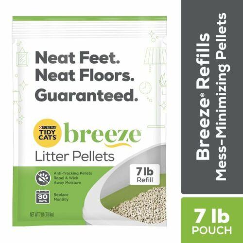 Purina Tidy Cats Litter Pellets, BREEZE Refill Litter Pellets, 7 lb. Pouch