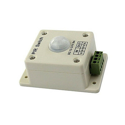 Pir Switch 8a Pir Motion Sensor Dc 12-24v For Led Strip Light Bulb Infrared M