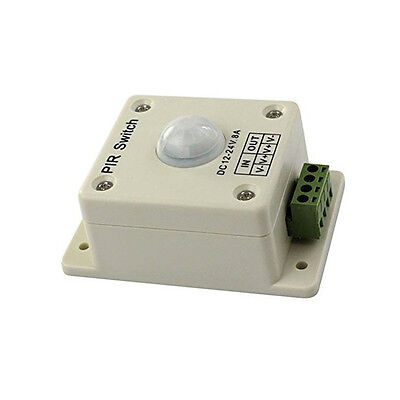 Pir Switch 8a Pir Motion Sensor Dc 12-24v For Led Strip Light Bulb Infrared M