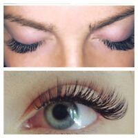 ♥ Eyelash Extensions Classic ( regular) 3D and 5D Russian Volume