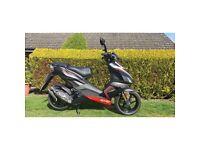 £1850 OVNO, Aprilia SR 50cc Moped, Low mileage and in perfect condition!