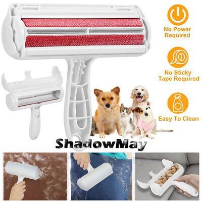 Pet Hair Lint Remover Dog Cat Cleaning Brush Reusable Hair Roller Sofa Clothes