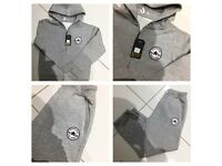 Brand New With Tags Boys Converse Tracksuits Grey £20