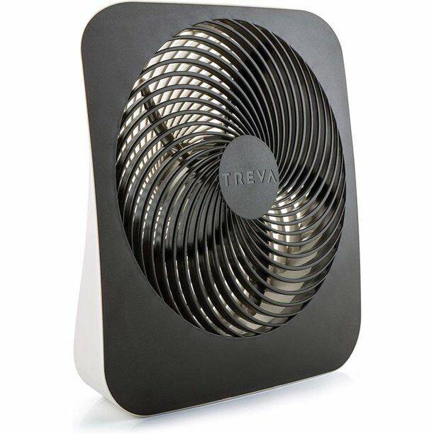 treva 10 inch portable fan battery or