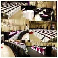 Wedding/Event - Chair Covers, Table-runners & Event Services