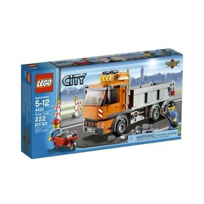 LEGO City Town Dump Truck (4434) - no box, but all pieces & instructions!