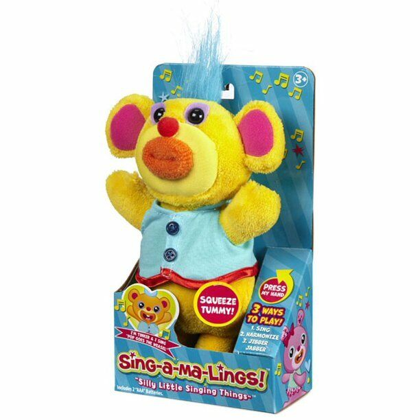 """Funrise Sing-A-Ma-Lings! Tinker Singing """"Pop Goes the Weasel"""" Electronic Toy 1990-Now"""