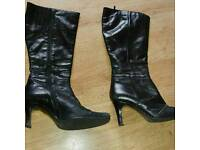 Next size 6 black ladies boots