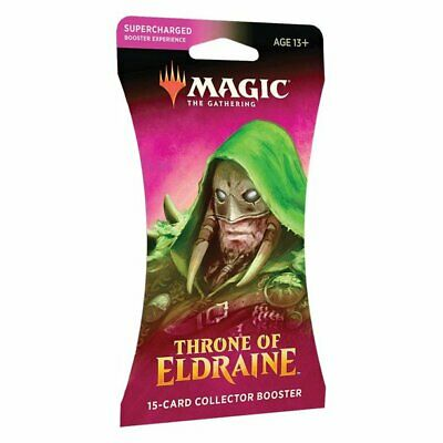 Magic: The Gathering Throne of Eldraine Collector 15 Card Booster Pack - 13