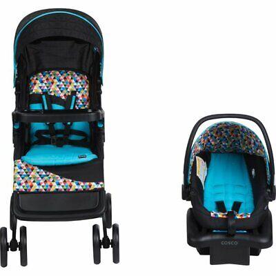 Kinderwagen und Autositz Combo Infant Comfort Walker Travel System Fußbremsen