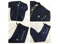 Brand New With Tags Men's S.I Navy/Black Tracksuit £25