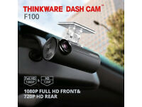 Thinkware F100 1080p Front & Rear Dash Cam Edinburgh Glasgow Perth CALL